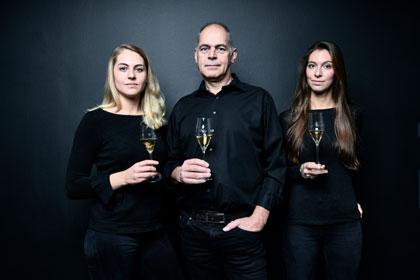 Die Raumlands, Katharina, Volker und Marie-Luise Raumland