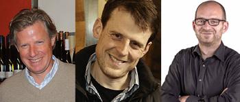 Konrad Salwey, Boris Kranz und Thomas Pfaffmann